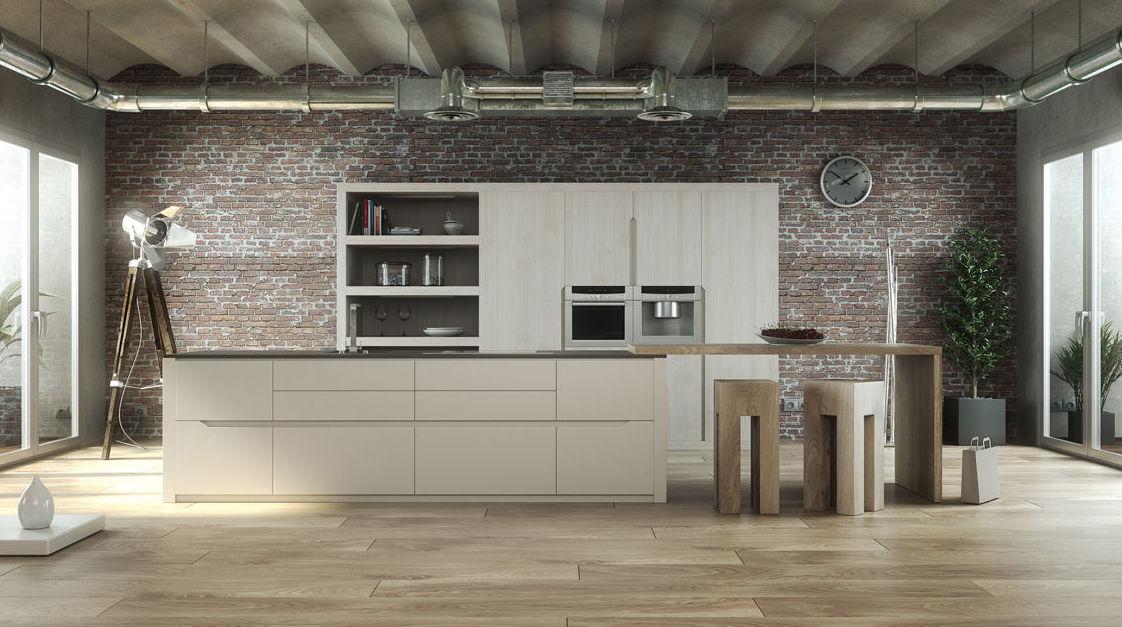 Muebles de cocina lacado modelo Orinoco