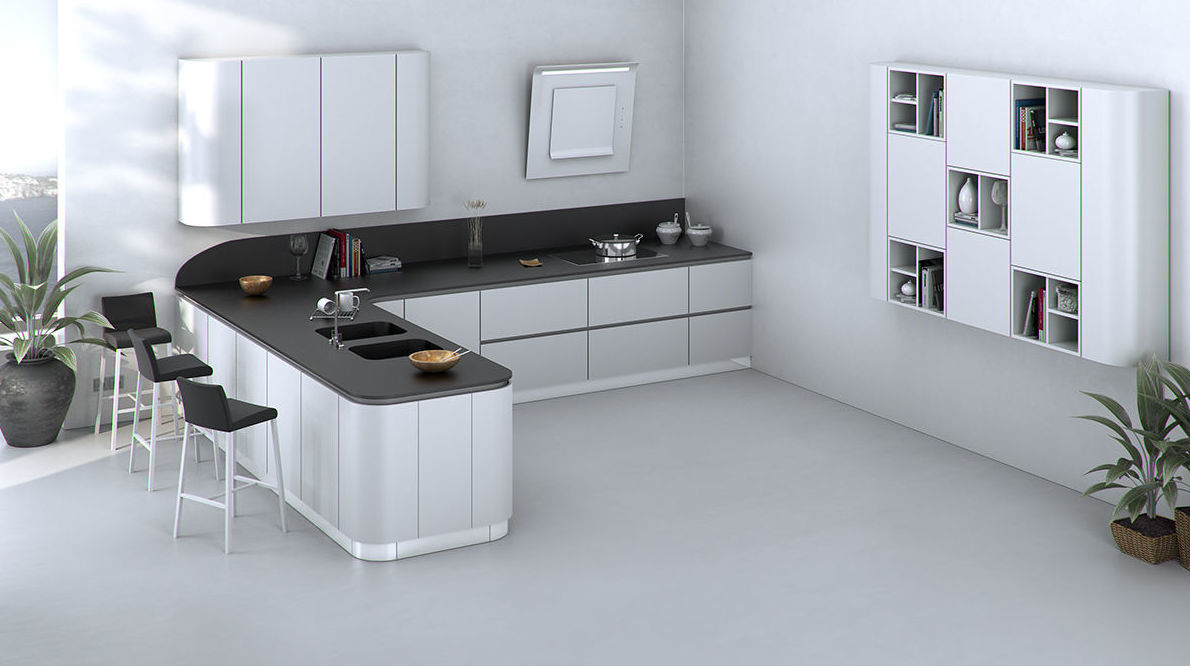 Muebles de cocina lacado modelo Sena