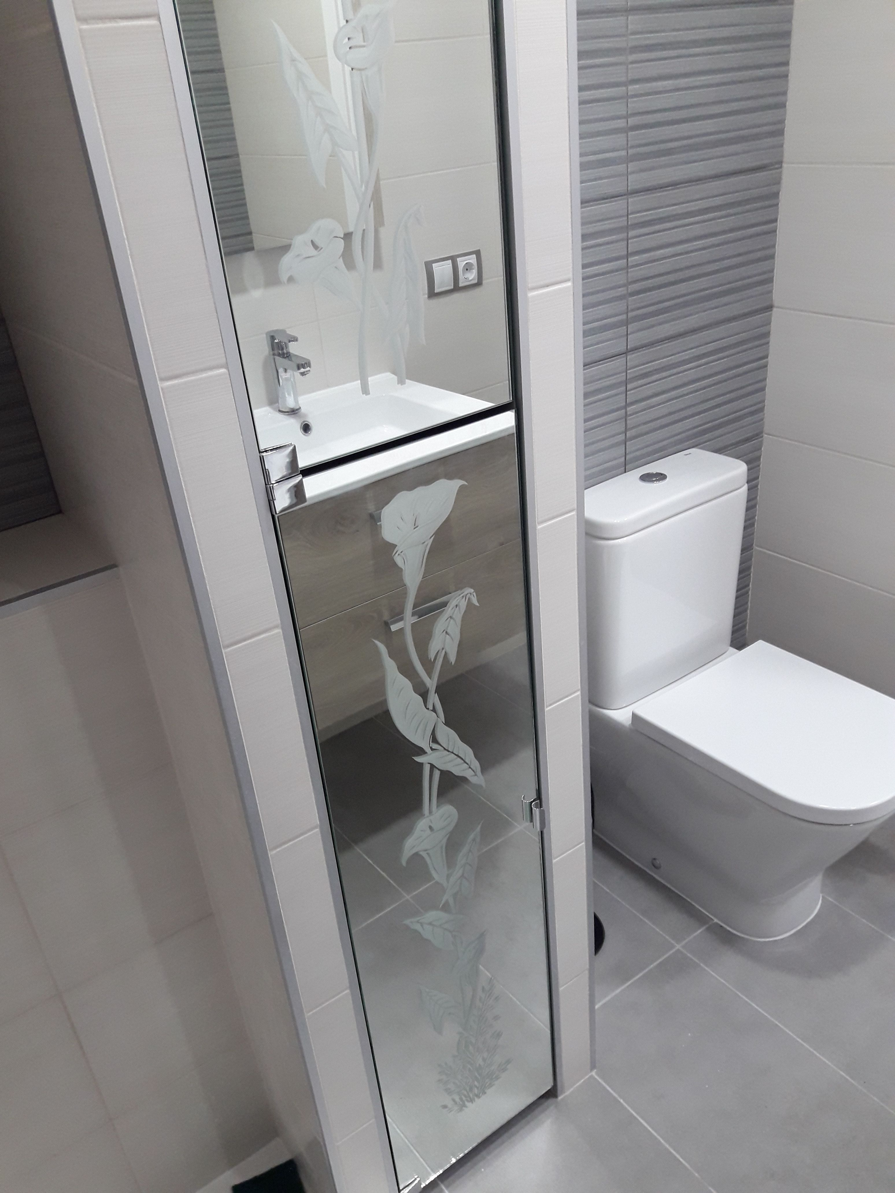 Puertas de espejos: Servicios de Cristalería La Herradura