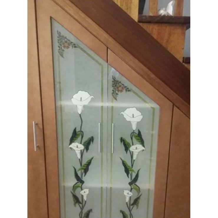Vidrio decorado: Servicios de Cristalería La Herradura