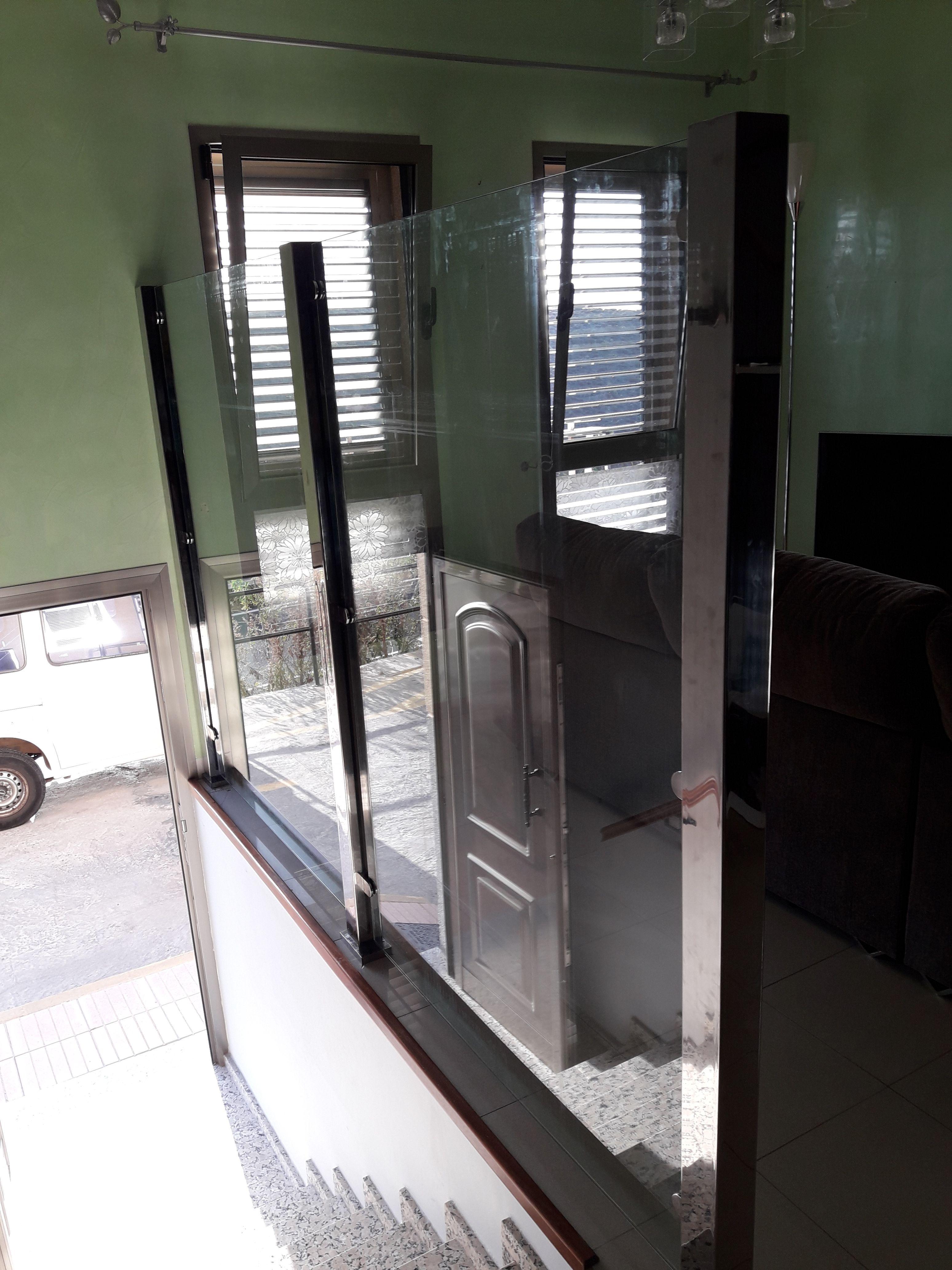 Cerramiento interior de casa: Servicios de Cristalería La Herradura