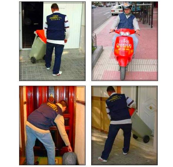 Cubos Chamberí. Servicio de limpieza