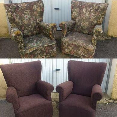 Orejones (antes y después de la restauración)