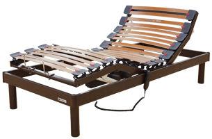 Somier bancada de madera, tacos personalizables en firmeza