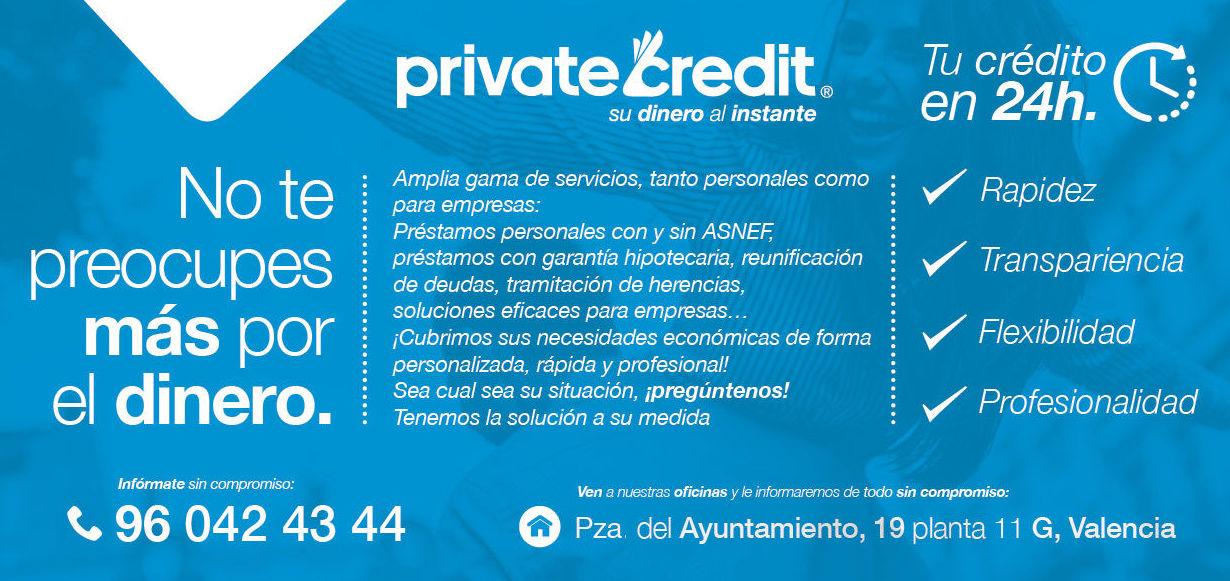 Crédito en 24 horas - Financiación - Valencia - Dinero urgente