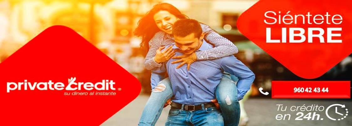 Préstamo Dinero rápido Crédito Microcrédito Private Credit Valencia
