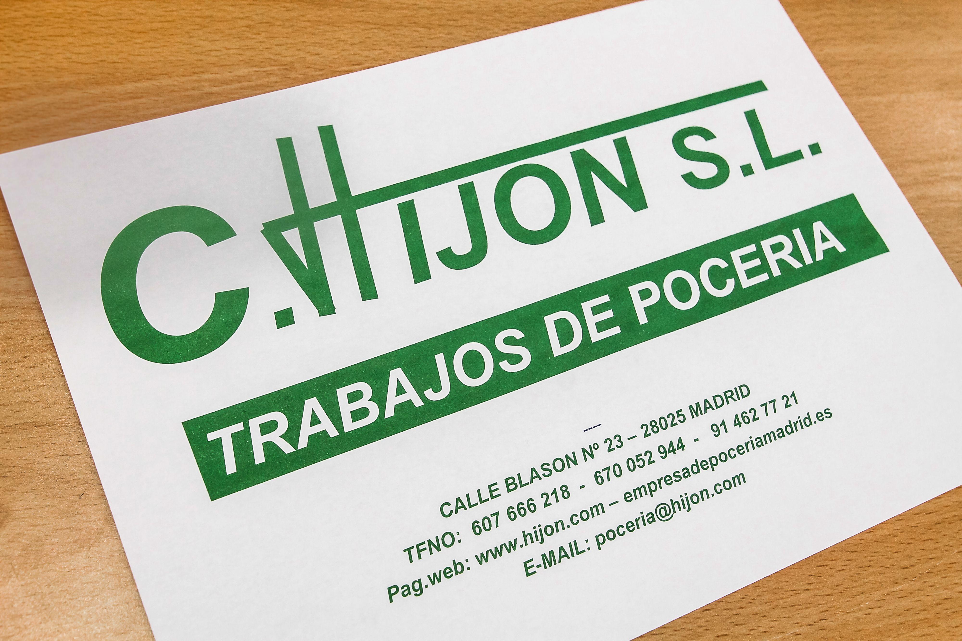 Foto 8 de Inspección técnica de edificios en Madrid | C. Hijon, S.L.