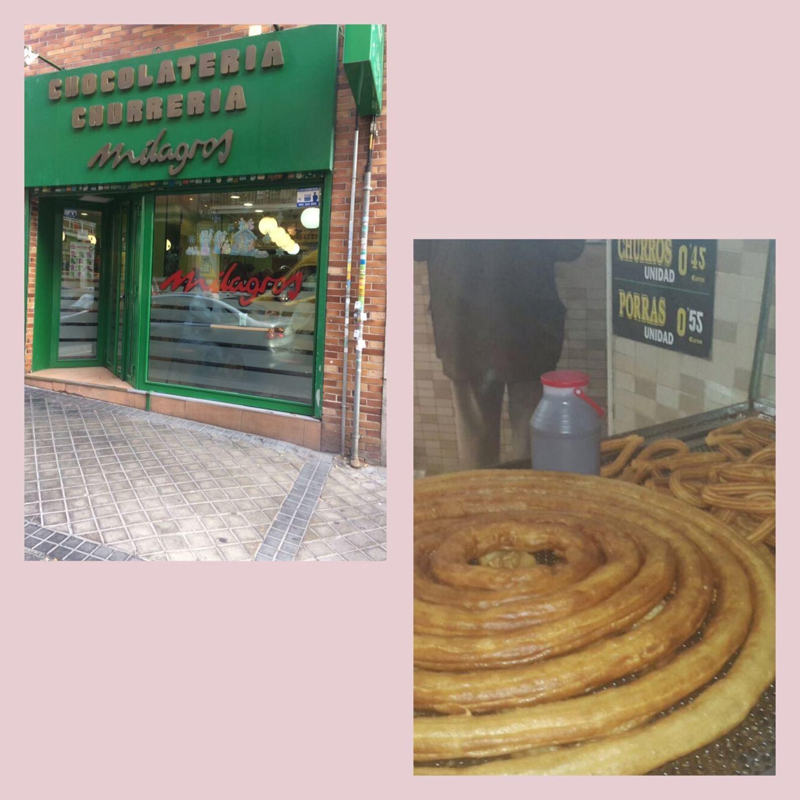 chocolaterías en Madrid