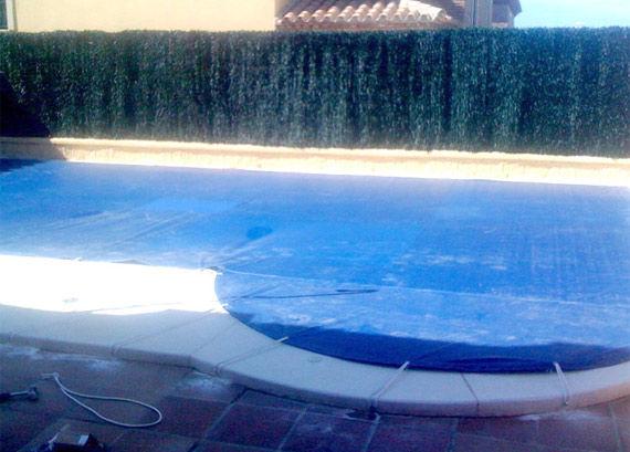 Toldo piscina