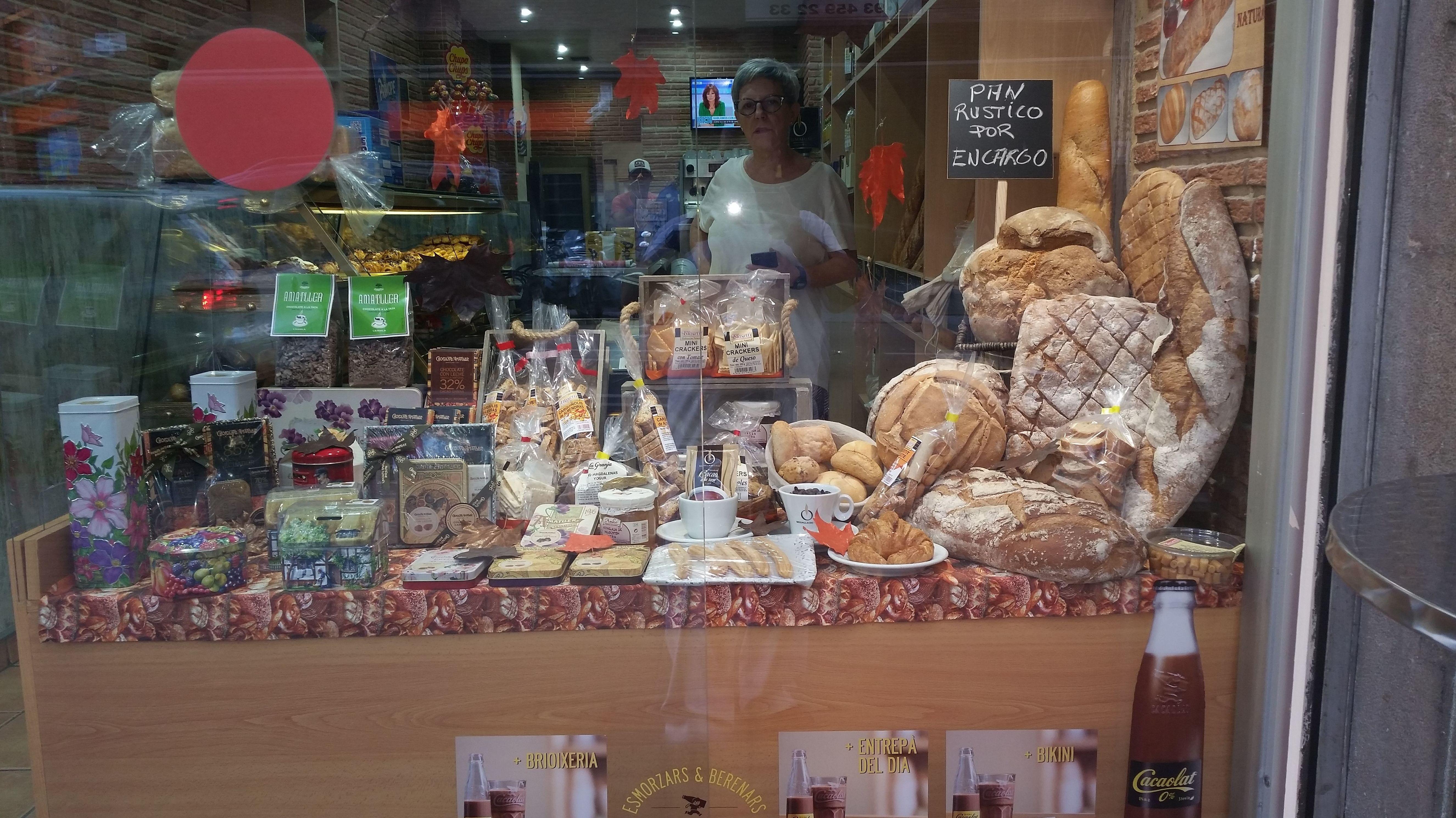 Productos de panadería y pastelería en Barcelona