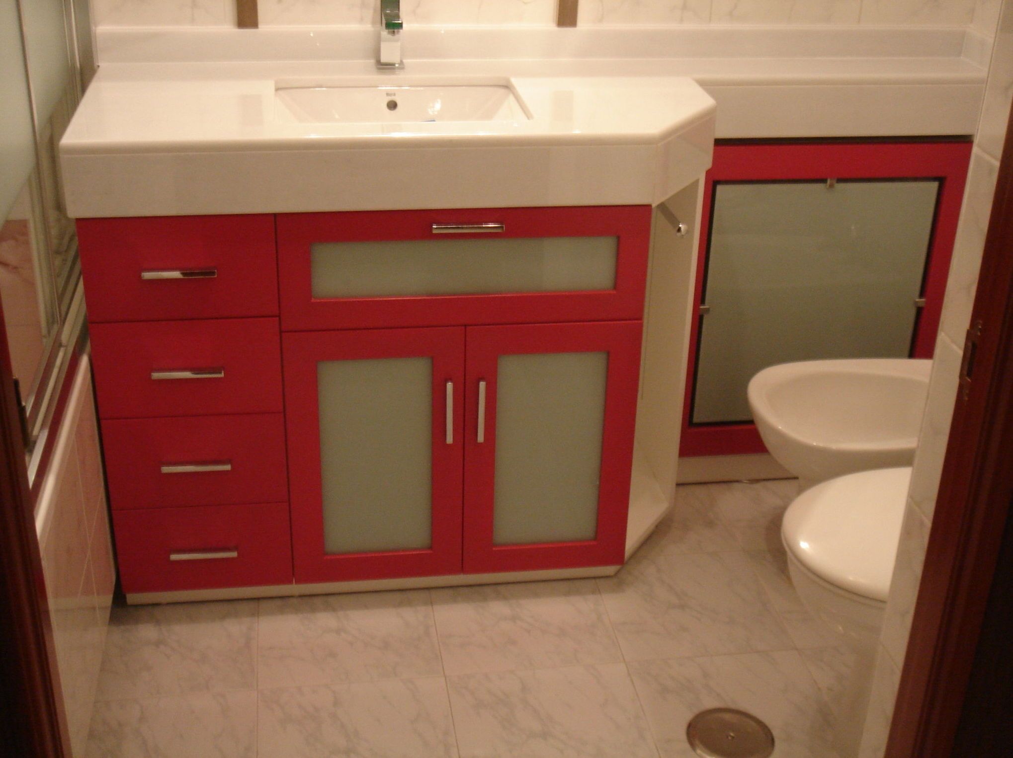 Mueble para el lavabo a medida