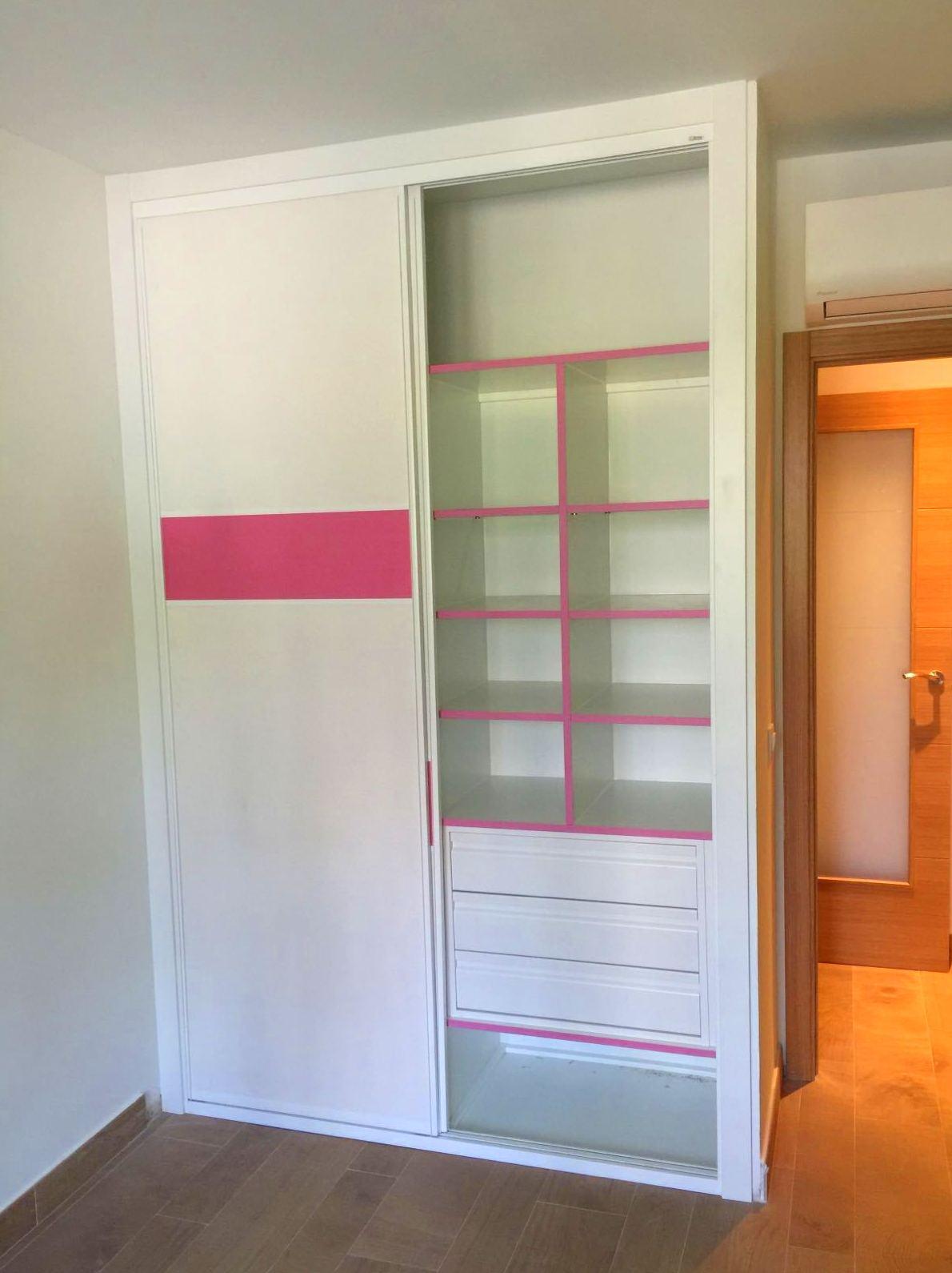 interior rosa