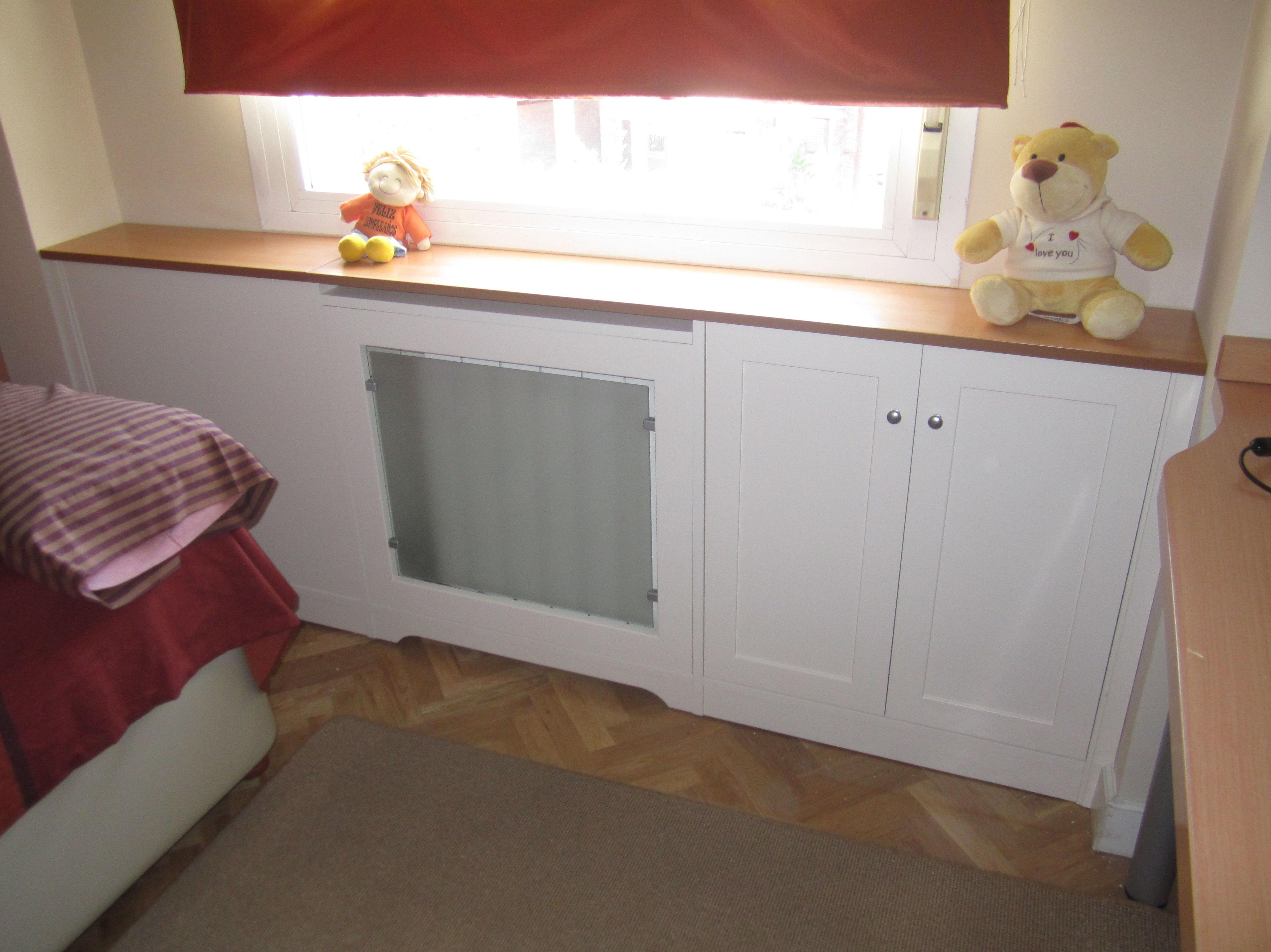 Mueble de madera para habitación a medida