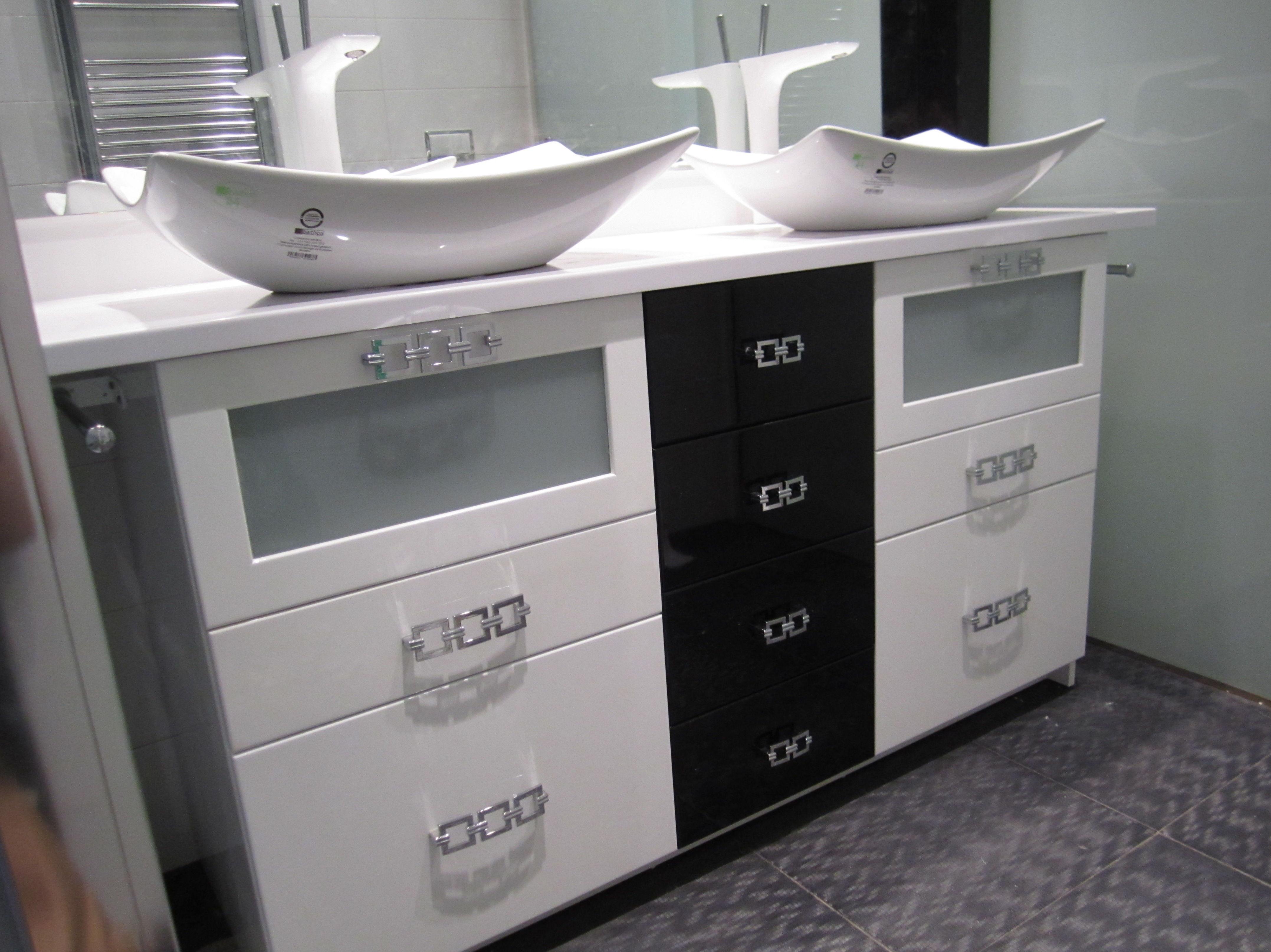 Mueble de lavabo a medida