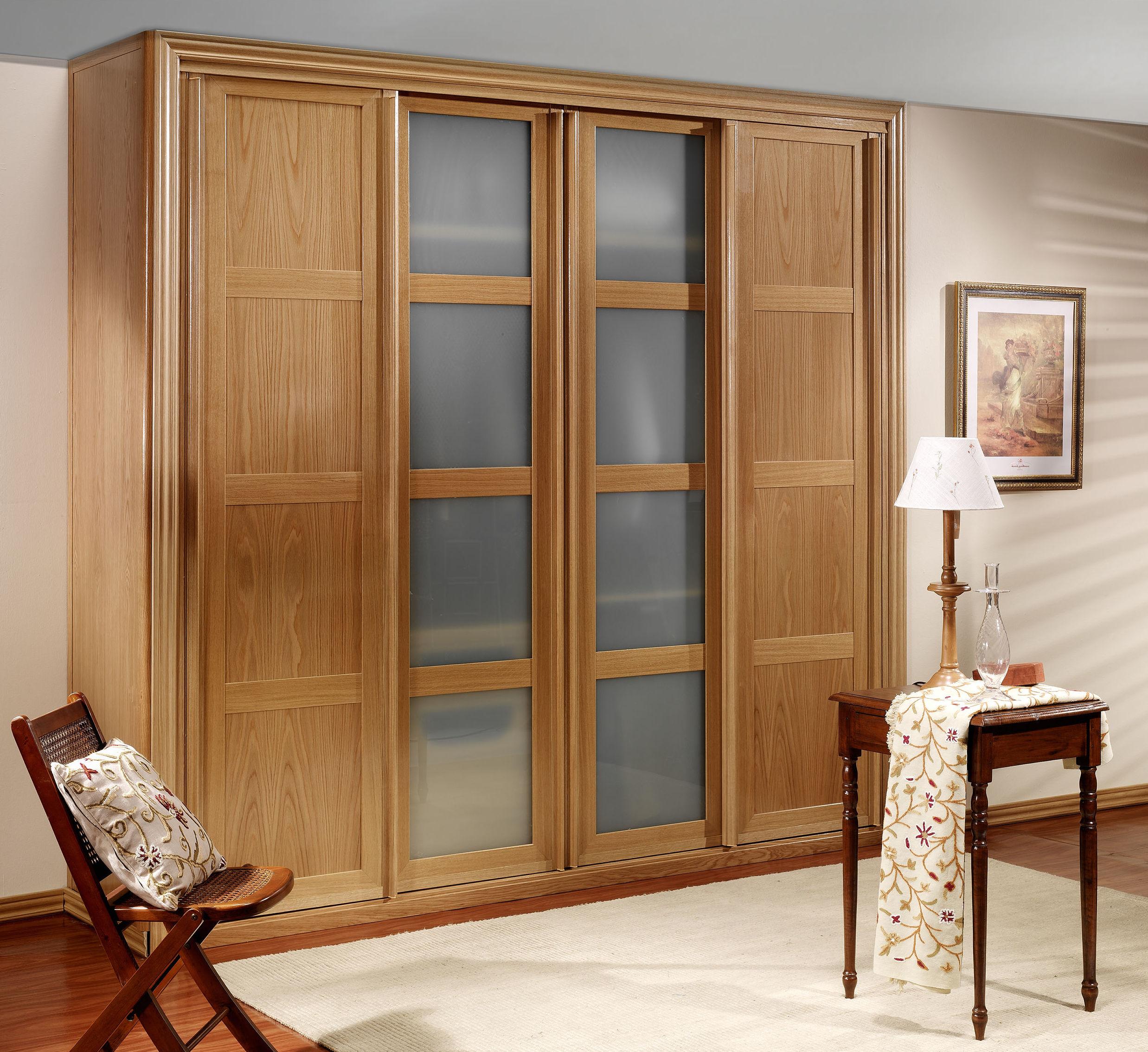 Puertas de madera para armarios