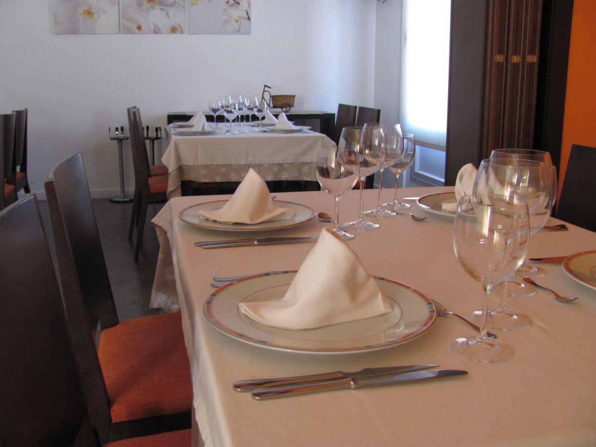 Restaurante con carta en Alzira