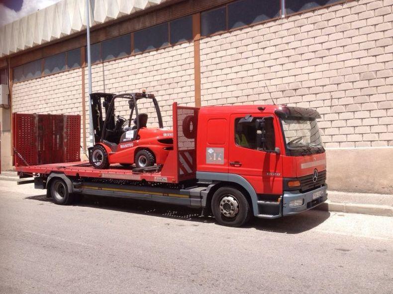 Camión de dos ejes