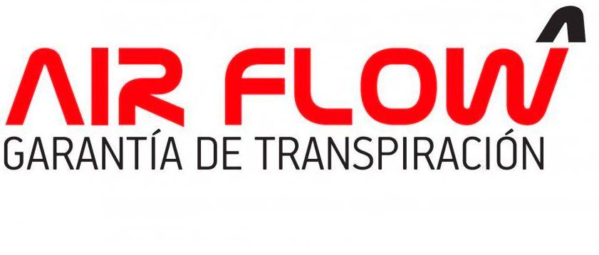 AIR FLOW. GARANTIA DE TRANSPIRACION