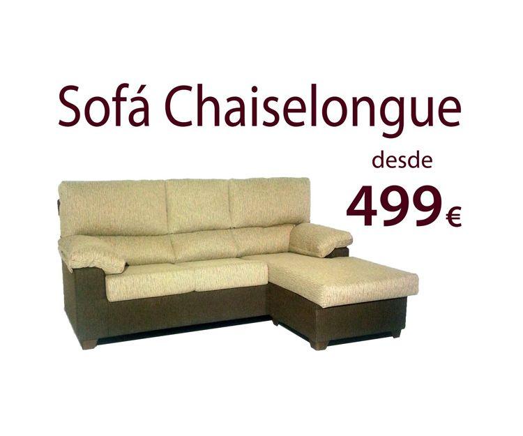 Sofa chaiselongue en Villava