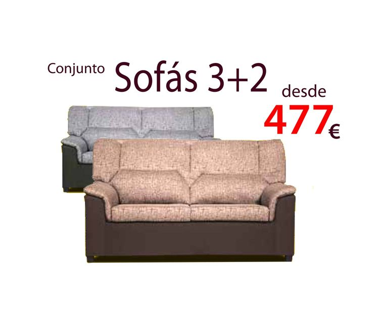 Conjunto de sofás en Villava