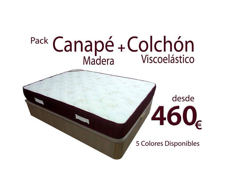 Canapé y colchón viscoelástico en Villava
