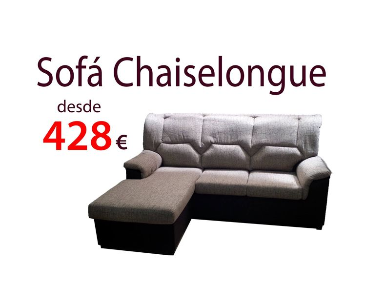 Sofá chaiselongue en Villava