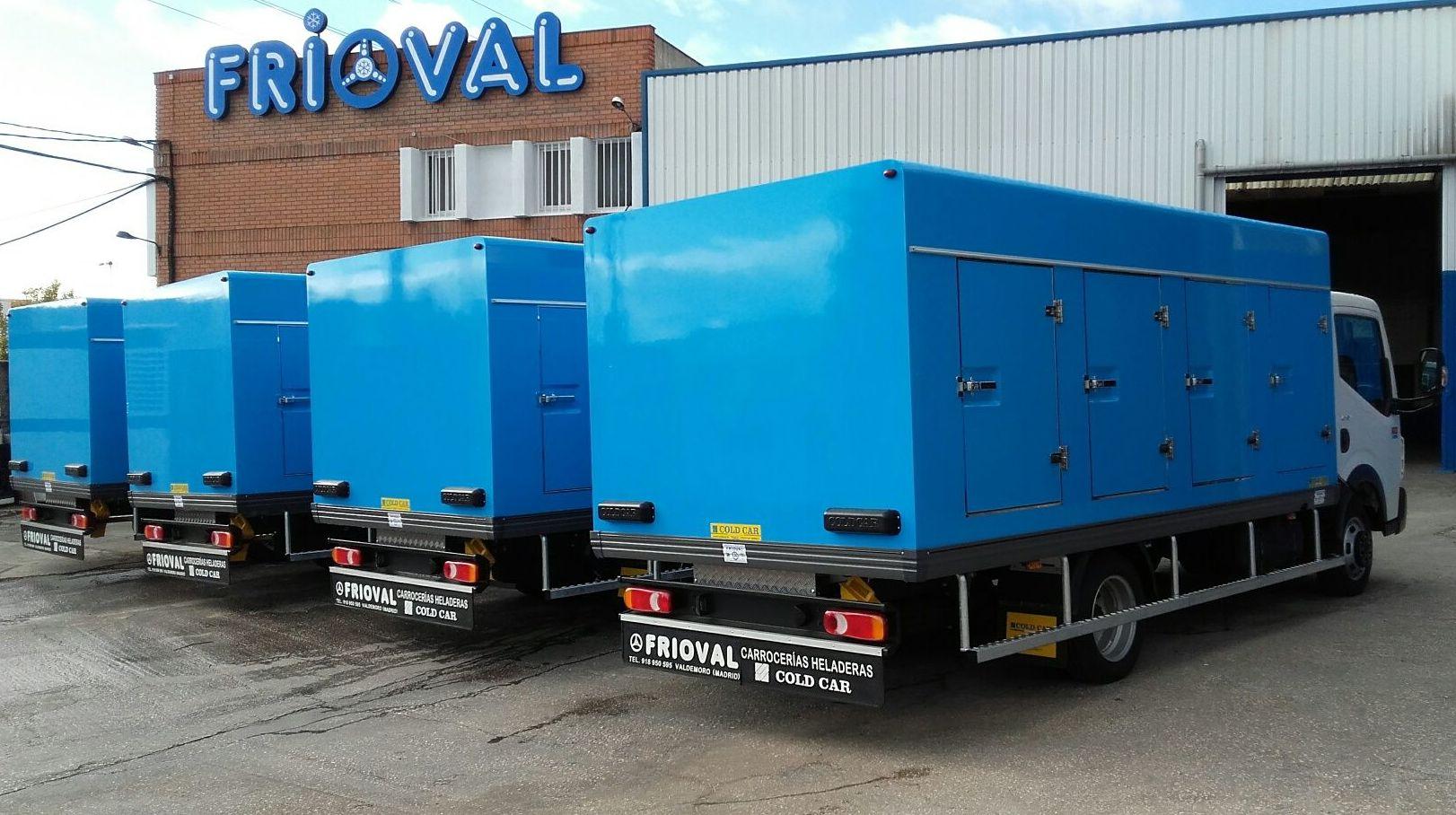 Empresa especializada en en reparar equipos frigorificos de transporte