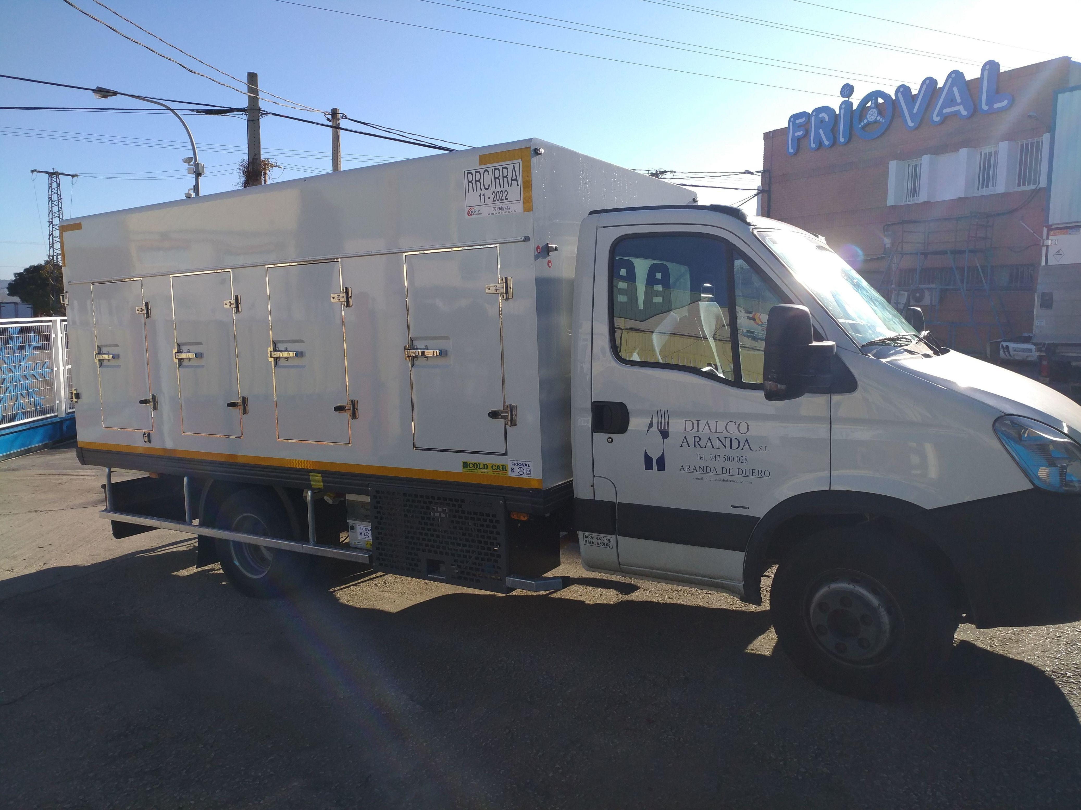 Carroceria Cold Car, instalada en Iveco Daily