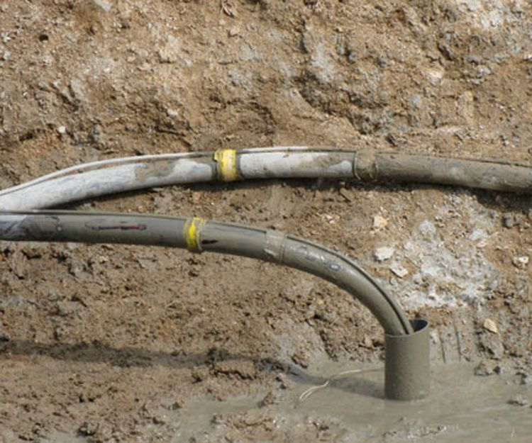 Inyección de cemento