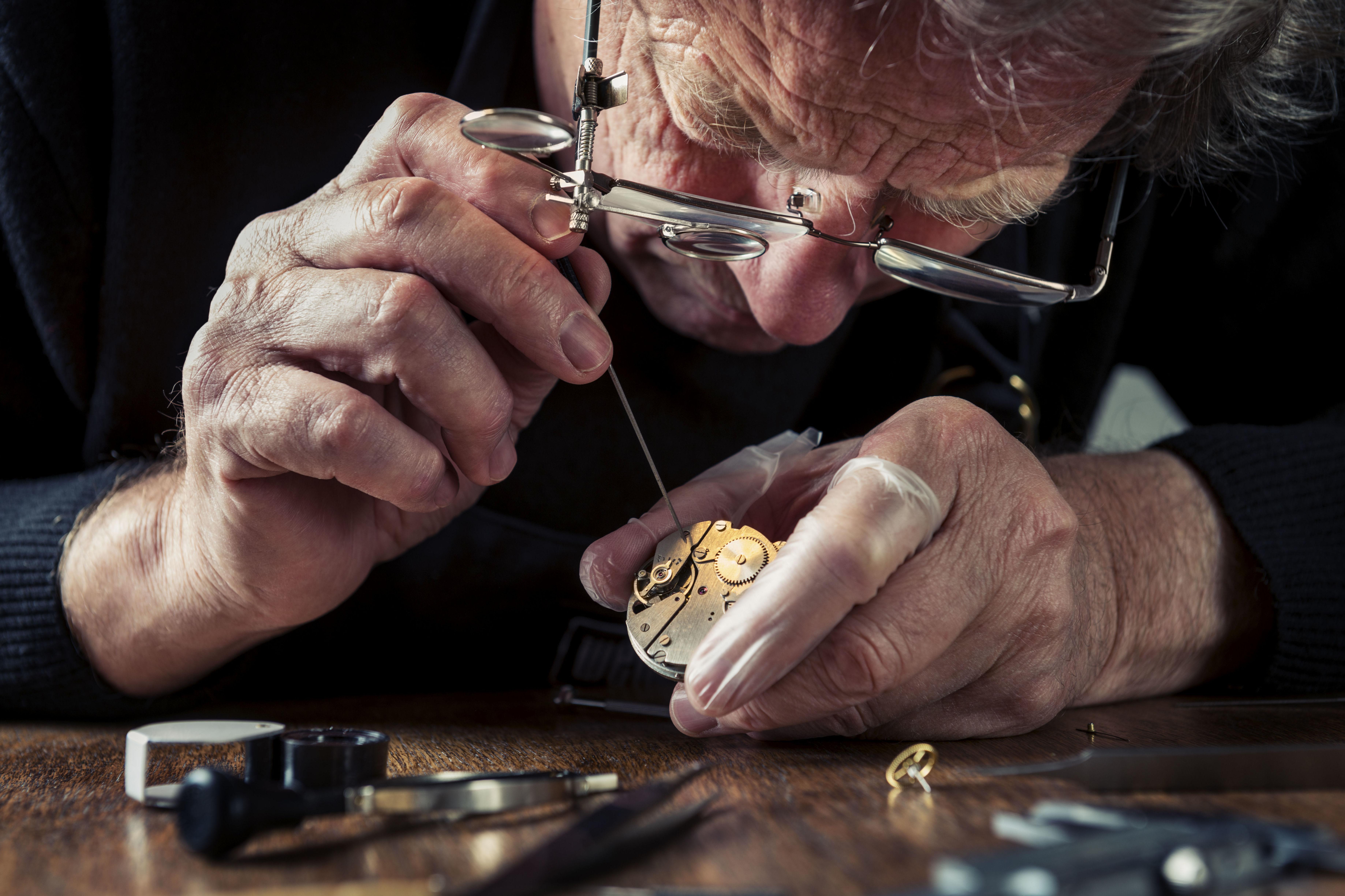 Venta y reparación de relojes