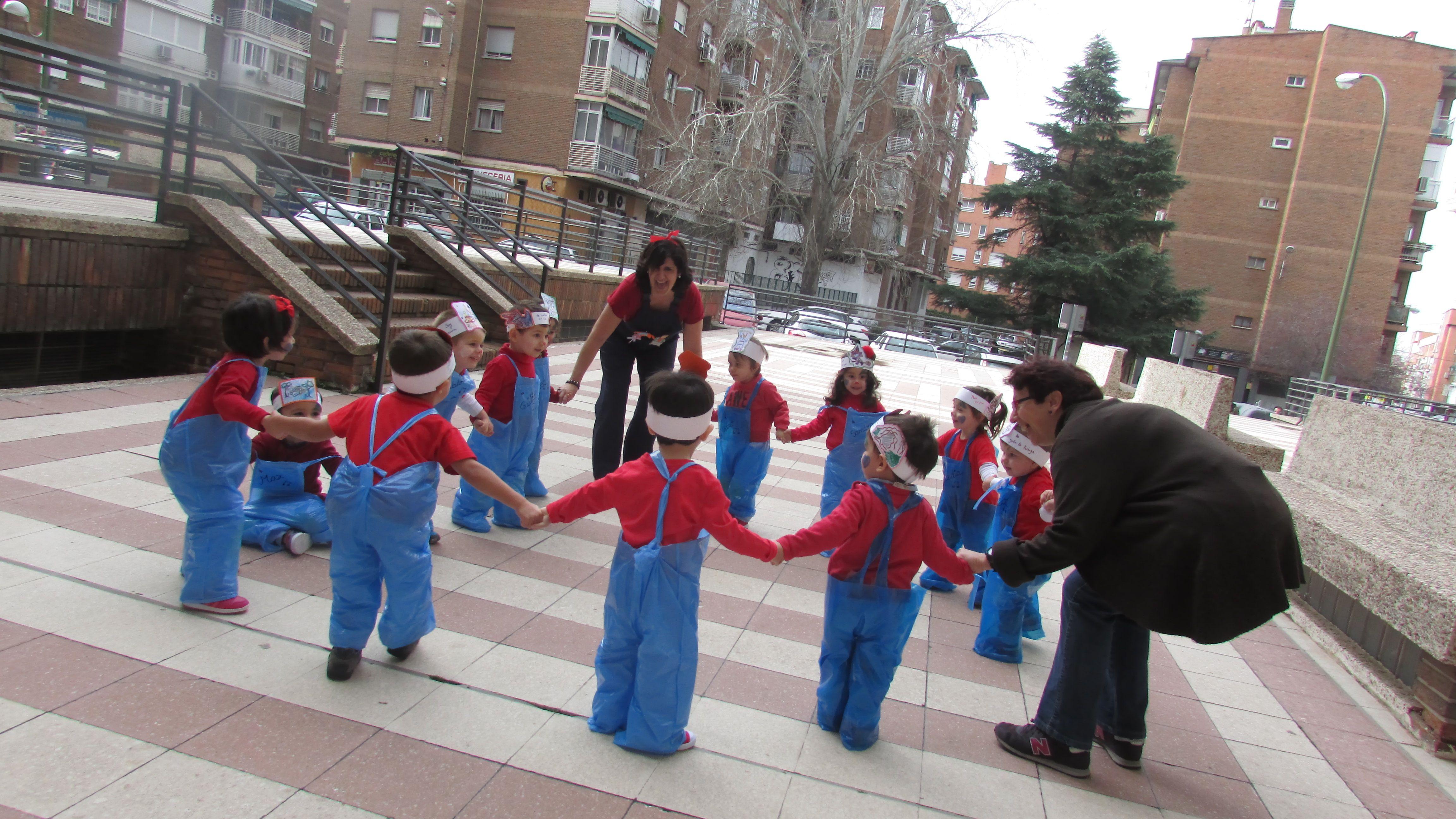 Escuela infantil horario ampliado La Concepción, Madrid