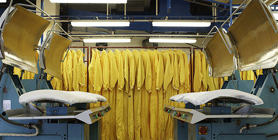 Lavado industrial de todo tipo de tejidos
