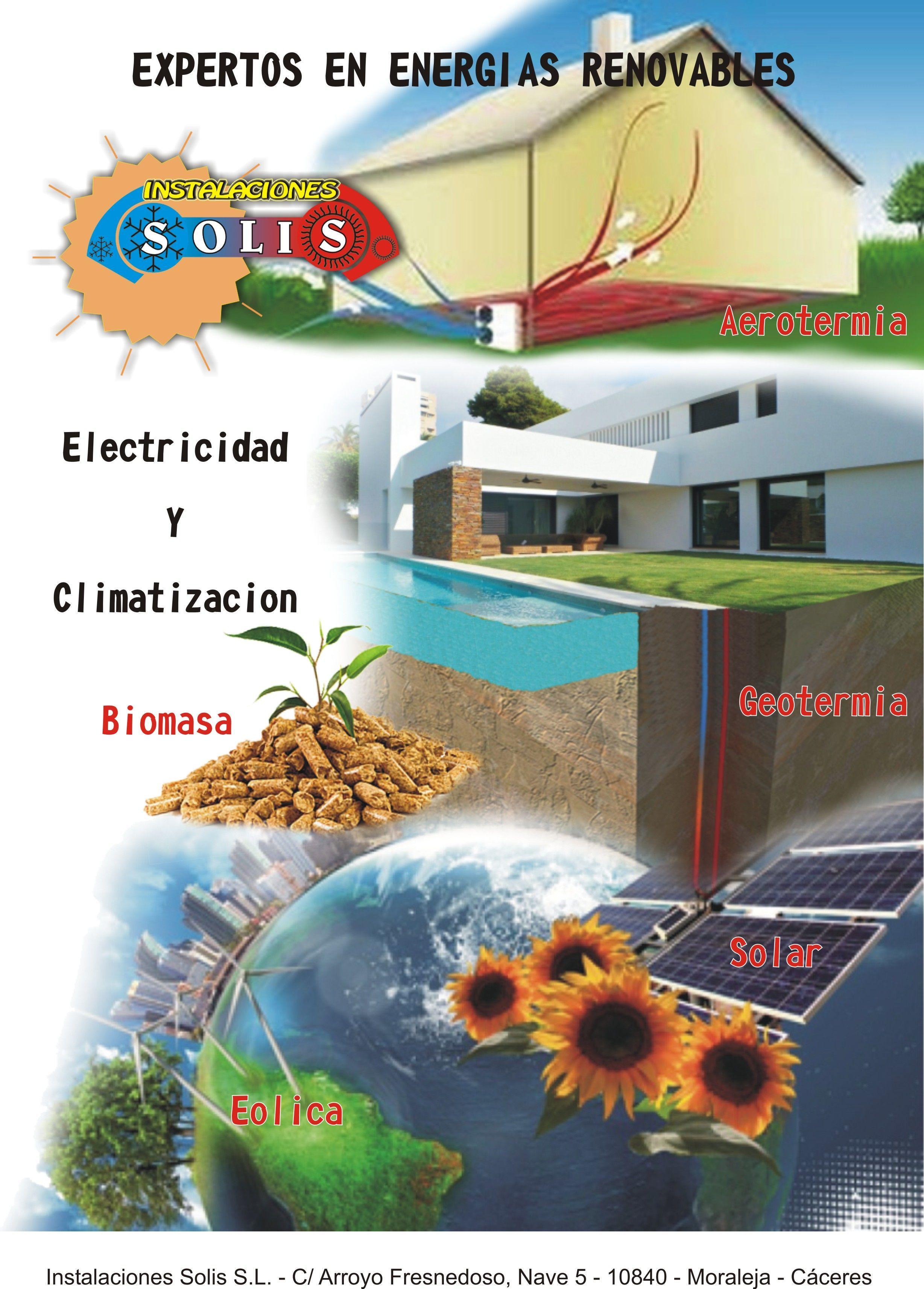 Expecializados en energias renovables.