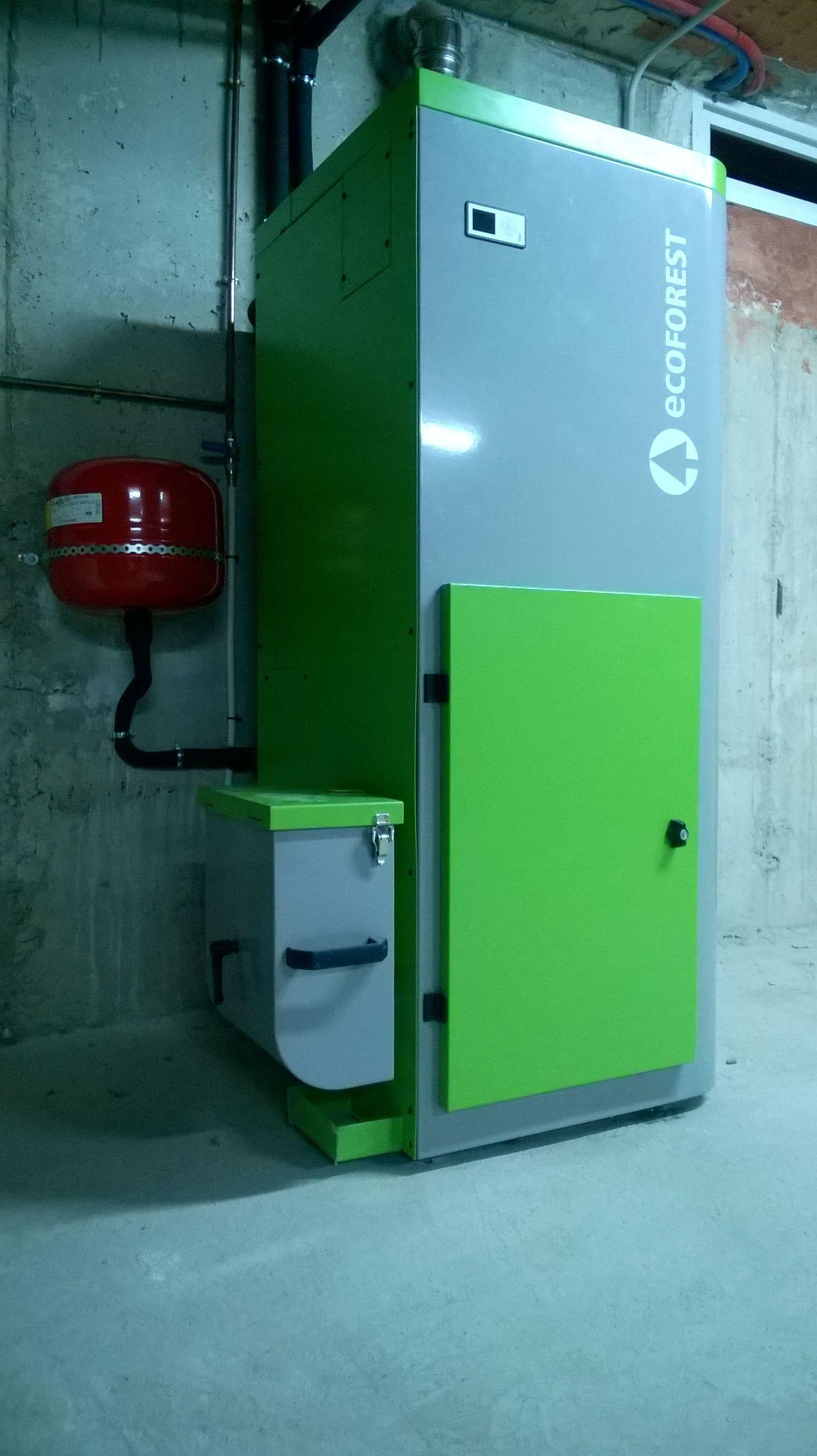 Caldera Biomasa Automatica Ecoforest Vap 18