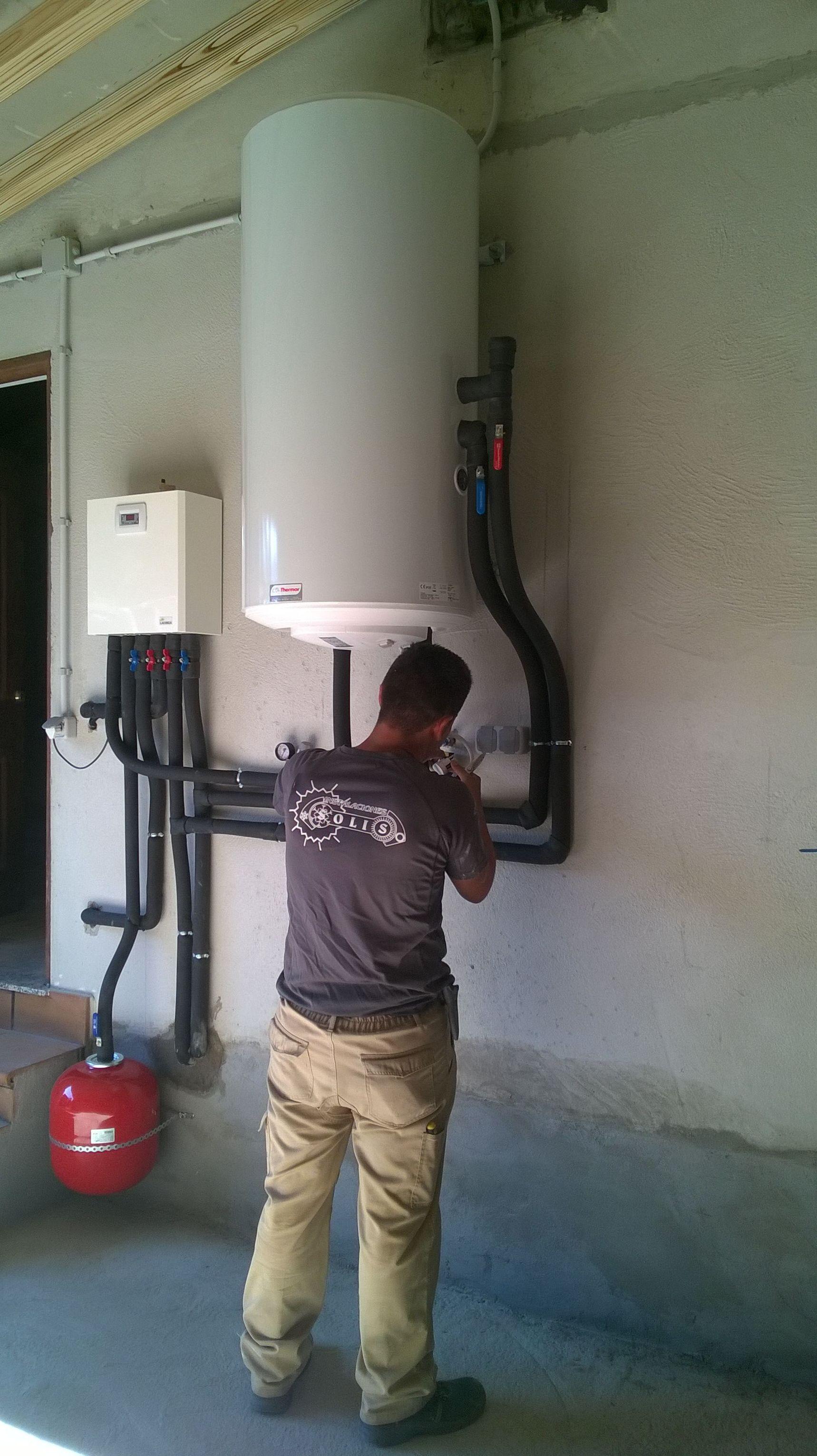 Instalacion hidraulica califugada