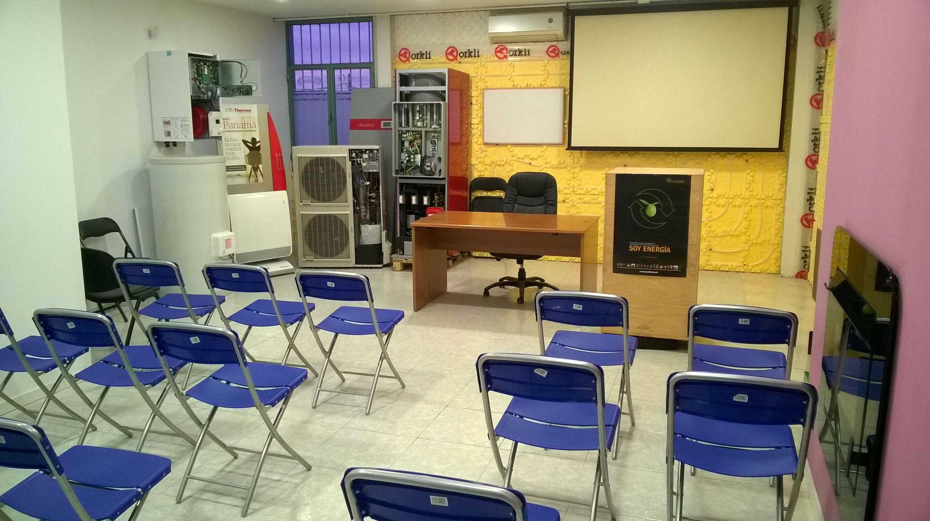 Preparativo para jornada de formacion en nuestras instalaciones para arquitectos y tecnicos.