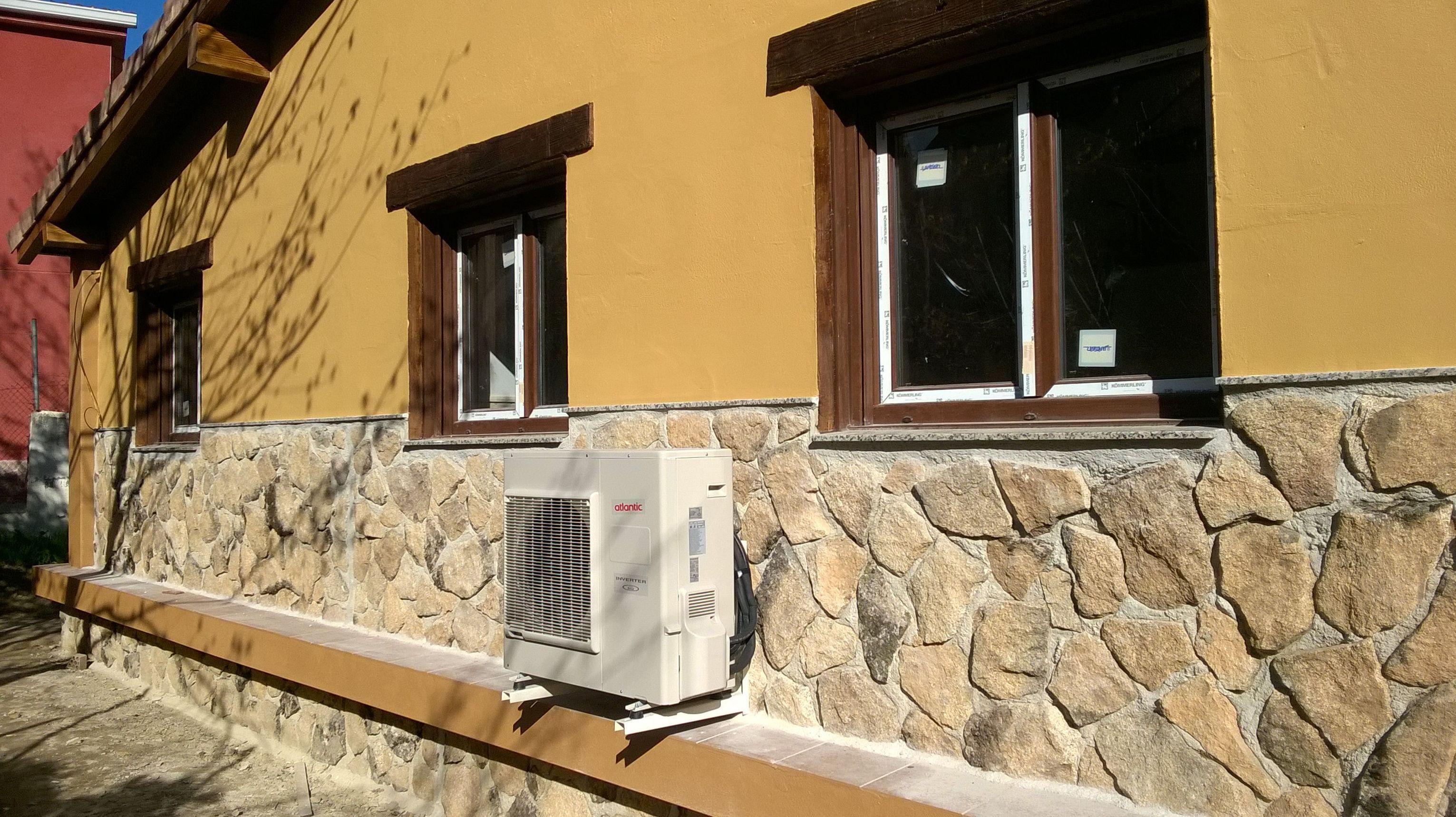 Unidad exterior aerotermia duo (calefaccion/clima + ACS)