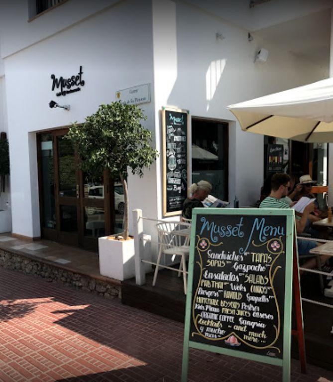 Menú para comer en Ibiza