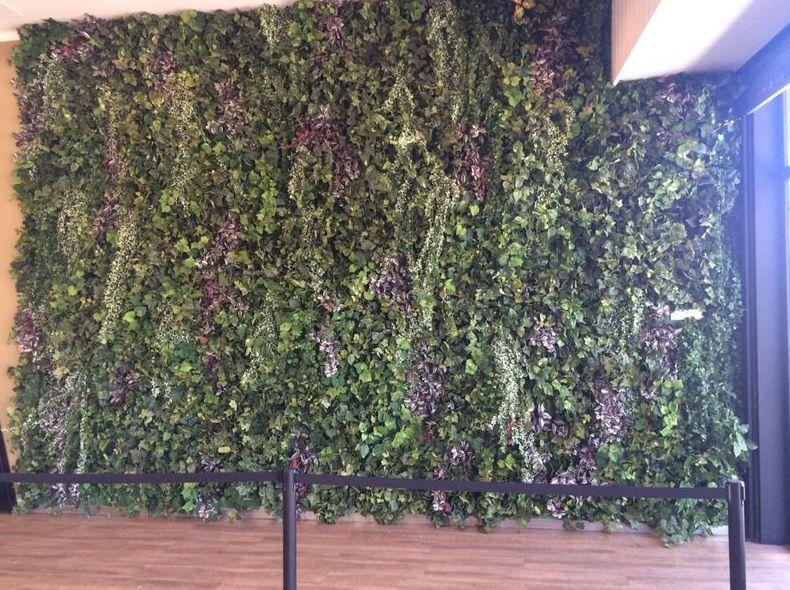 Decoración de espacios con jardines verticales