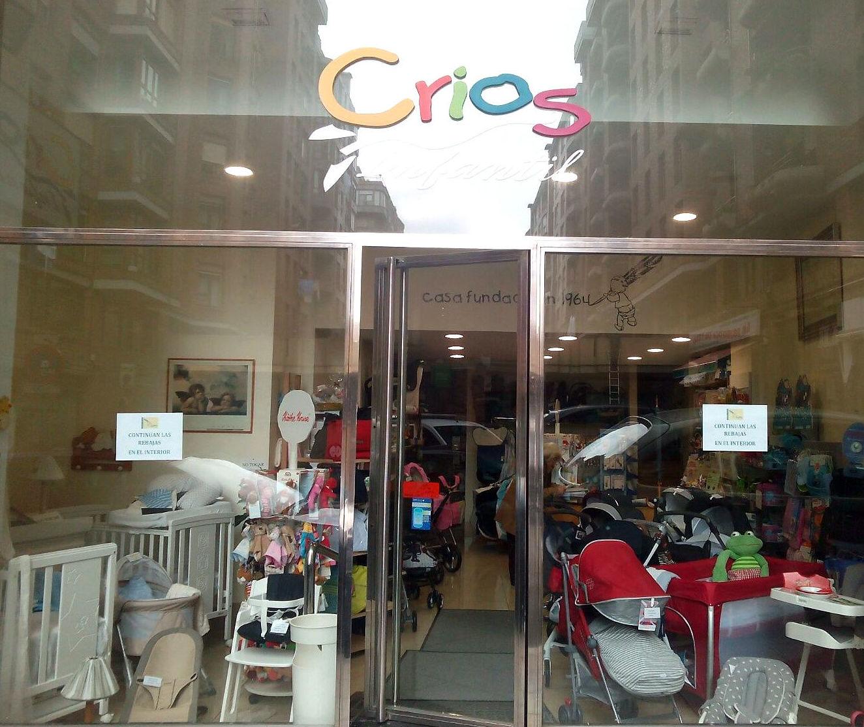 Tienda de artículos de bebé en el centro de Santander