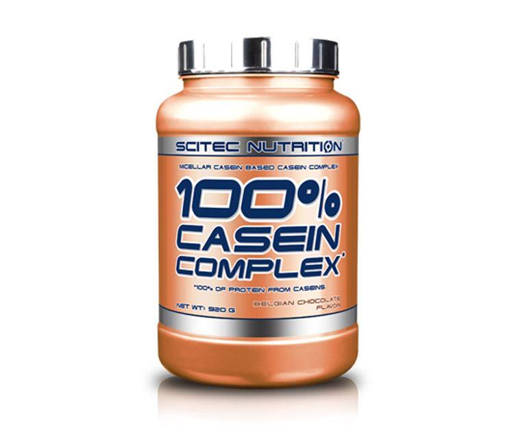 Casein Complex de Scitec es un suplemento nutricional