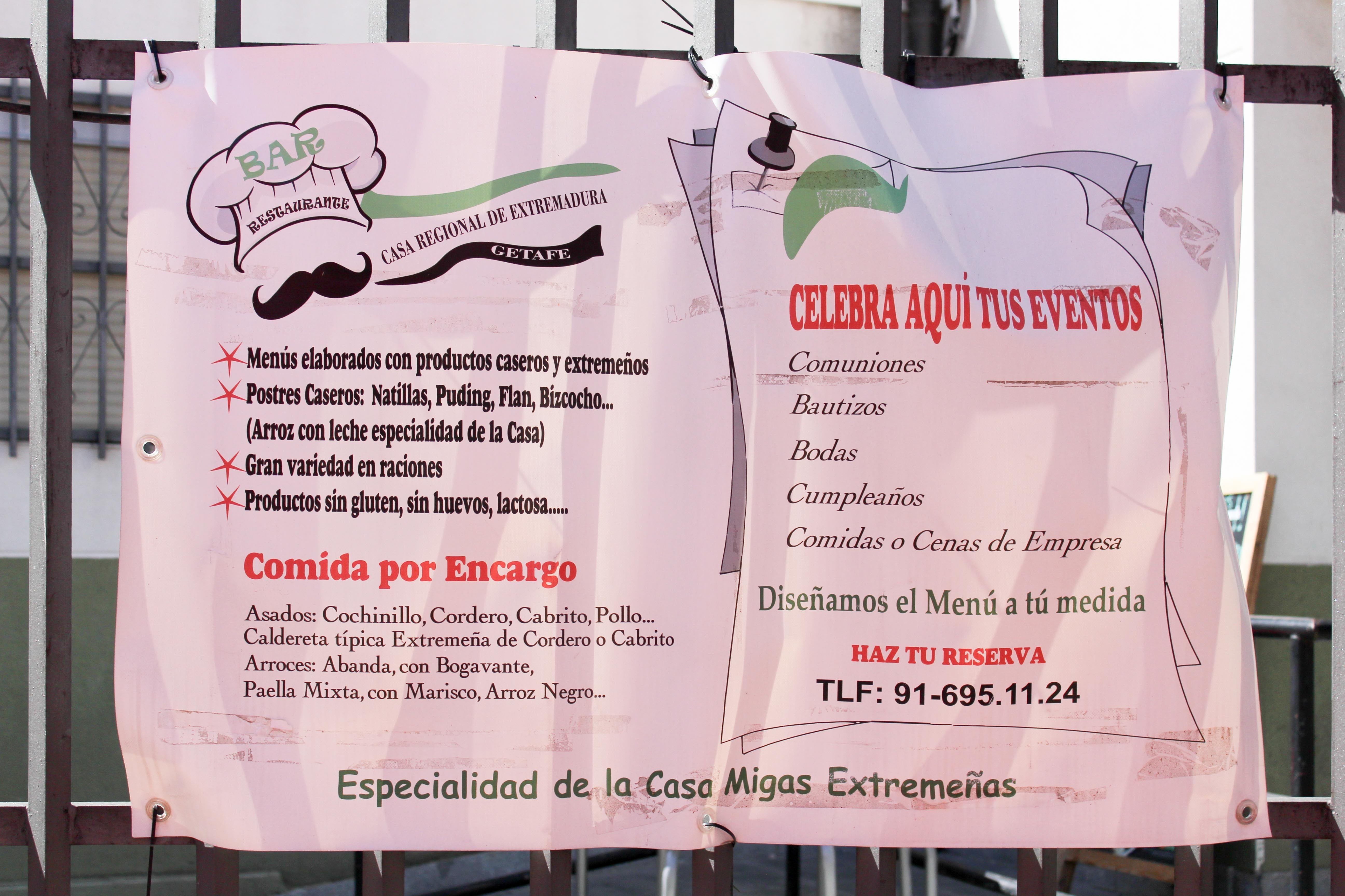 Foto 5 de Amplia variedad de raciones, bocadillos y paletos en Getafe | Restaurante Casa Extremadura