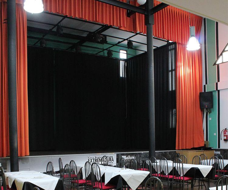 Escenario para eventos especiales
