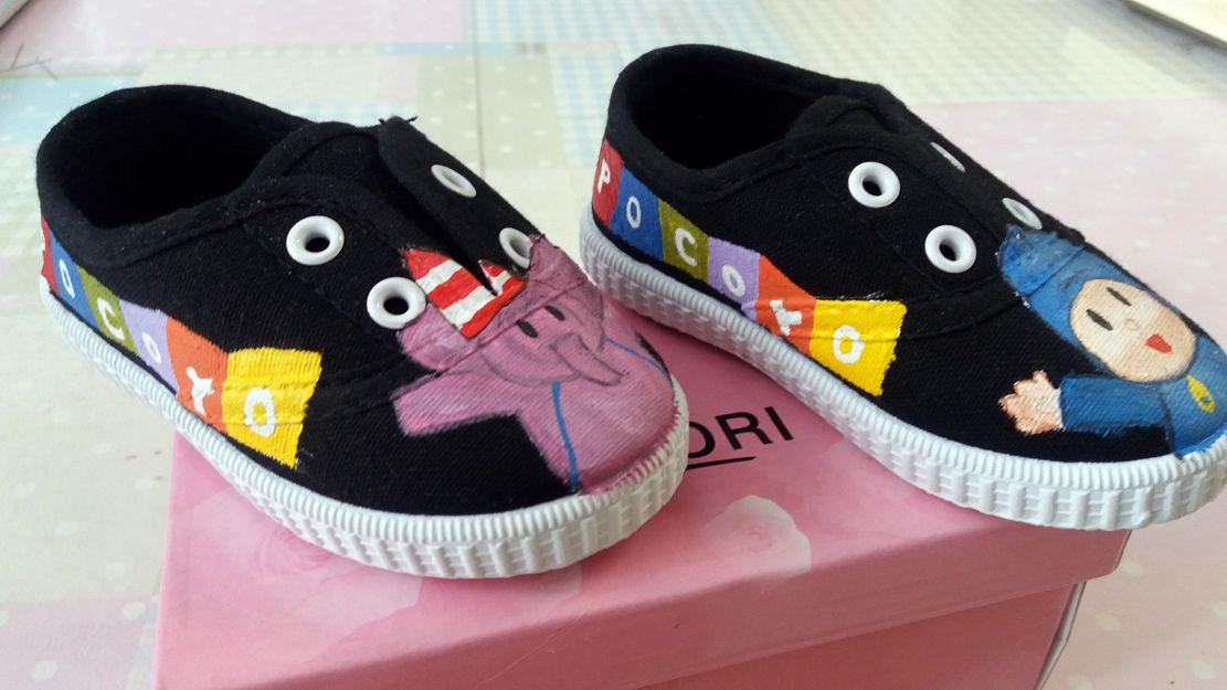 Zapatillas personalizadas para bebé en Burgos