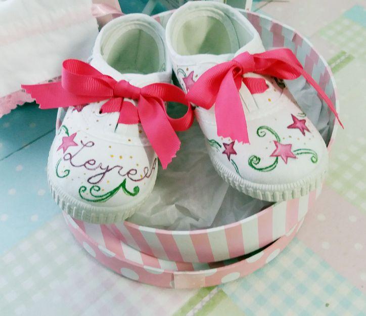 Zapatillas personalizadas para niño y bebé en Burgos