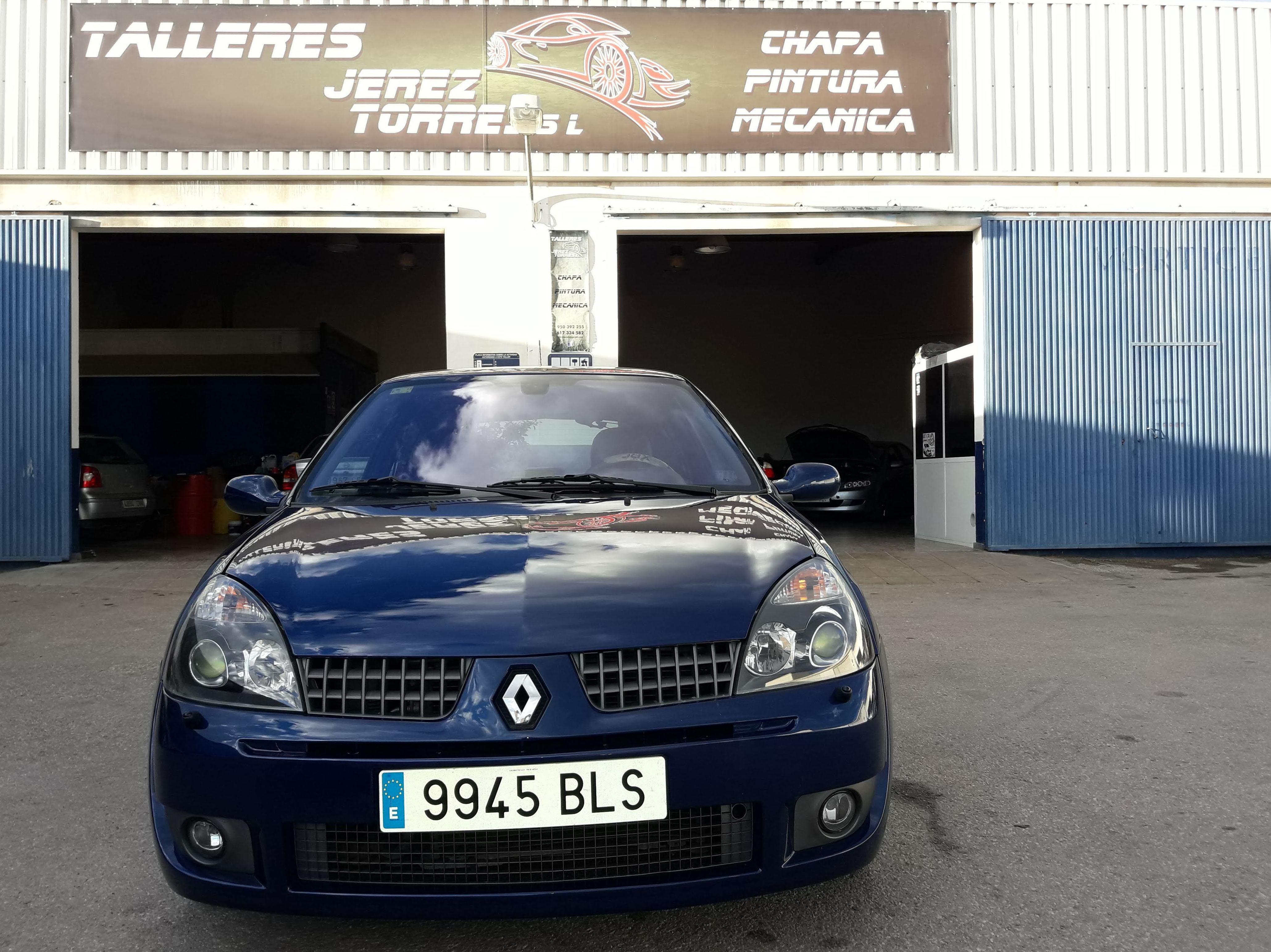Foto 5 de Taller especializado en chapa y pintura, mecánica rápida y reparación integral de vehículos. en Vera | Talleres Jerez Torres S.L.