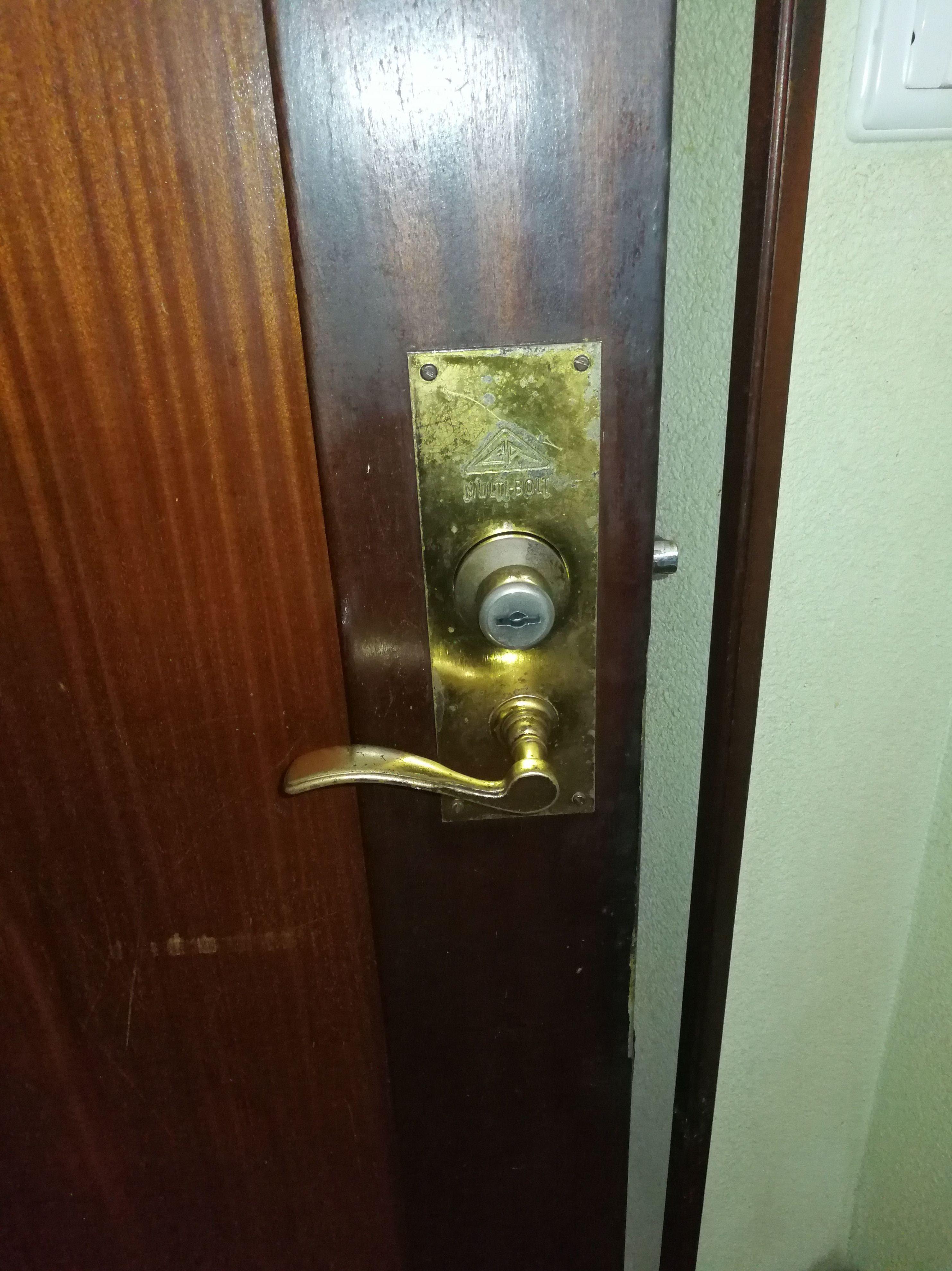 Mantenimiento de cerraduras