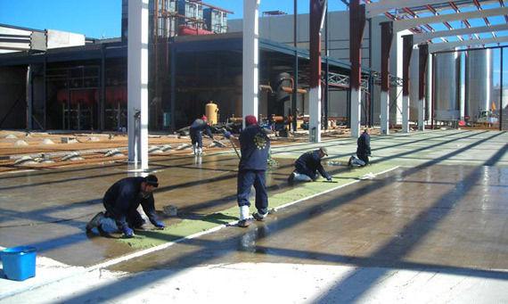 Foto 1 de Pavimentos industriales en Manzanares | Elite Revestimientos Continuos, S.L.
