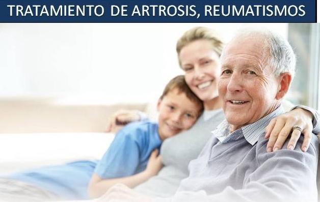 Tratamiento de artrosis,reumatismos
