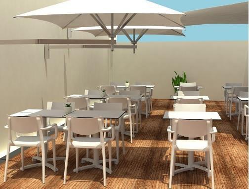 Toldos y parasoles para terrazas